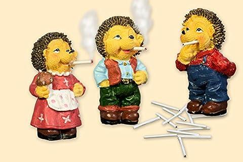 Räuchermecki mit 15 Mini Zigaretten- Der bekannte Kult-Igel aus DDR