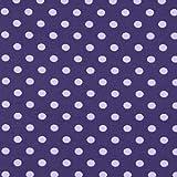Unbekannt Jersey Farbige Punkte Medium lila — Meterware