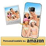 Cover Personalizzata HTC One M9 / HTC One M9s - Custodia Morbida e Trasparente - Stampa di altissima qualità