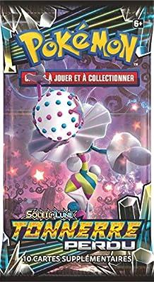 Pokemon- Booster Soleil & Lune Tonnerre Perdu (SL08) -Modèle aléatoire, POSL802