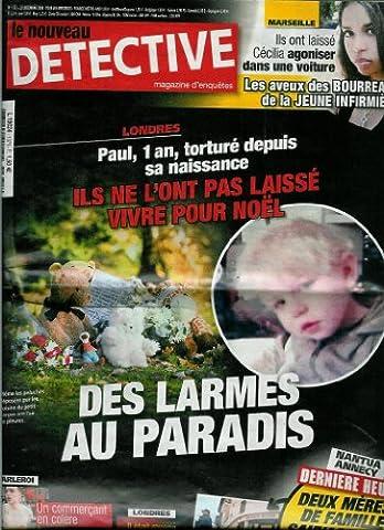 Voisin Enfer - Le Nouveau Détective - n°1371 - 23/12/2008