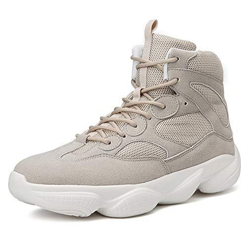 LFEU Männer Basketball Schuhe Sneakers High Top Leichte Anti-Rutsch-atmungsaktive Anti-Twist Outdoor Wandern Sportschuhe - Basketball-schuhe Aus