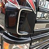 TRUCKDANET Accessori in acciaio INOX per camion SCANIA, cornici prese d'aria