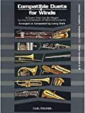Larry Clark: Compatible Duets For Winds - Clarinet/Trumpet/T.C. Euphonium/Tenor Saxophone. Für Klarinette, Trompete, Euphonium, Tenorsaxophon