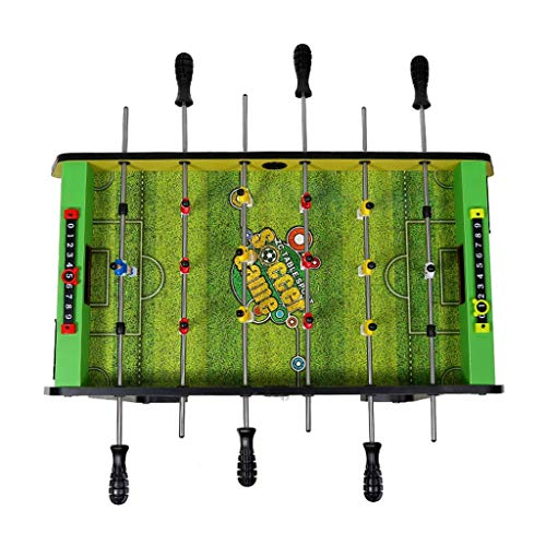 Table Football Kids Toys 3-10 Year Old Children's Toy Gift 6-seat Machine Family Game Machine Gift Children's Educational Toy Green Arcade & Table Games