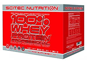 Scitec Nutrition Whey Protein Professional (Variety Pack) de saveur mélange (Variety Pack), 30 x 30 g, 1-pack (1 x 900g Pack)