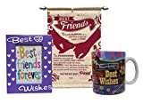 Saugat Traders™ Gift Combo For Friends - Friends Scroll Card, Photo Frame & Best Wishes Coffee Mug