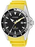 Citizen Herren-Armbanduhr XL Promaster Analog Quarz Kautschuk BN0100-26E