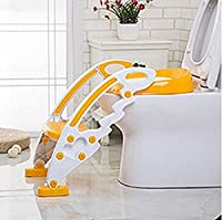 Vepson Plastic Potty Training Seat Stool Boys Girls Toddler With Toilet Ladder Step Up Training Stool
