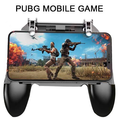 Smart Phone Gaming Controller, Trigger kompatibel mit PUBG/Fortnite/Red Dead etc. YYYIN Mobile Joystick, Game-Pad und Game-Griff mit ergonomischem Design für 11,4-16,5 cm Android & iOS W10
