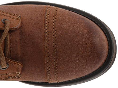 Steve Madden Troopa 2.0 Combattimento di avvio Cognac Leather