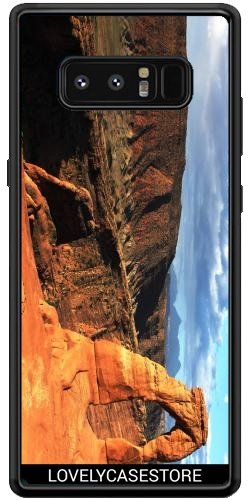 SilikonHülle für Samsung Galaxy Note 8 (SM-N950) - Grand Canyon Arizona USA USA Arid Wüste Klippe