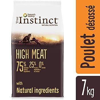 True Instinct High Meat Adult Nourriture pour Chat Poulet Elevé en Plein Air Désossé 7 kg