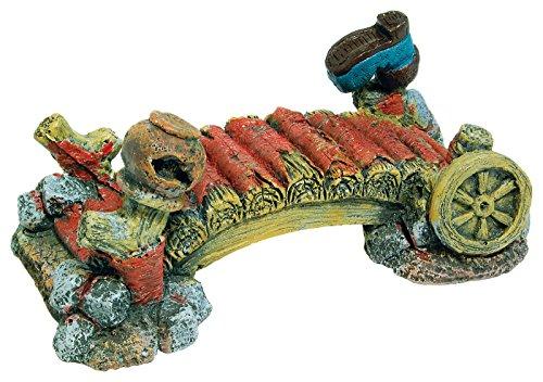 Aqua Spectra Brücke mit Schuhe Aquarium Ornament