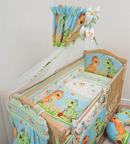 f2782fe4b9362 10 pièces Parure de lit de lit pour bébé avec polyvalent 420 cm Bumper  Motif (