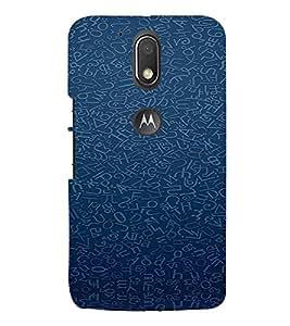 TAKKLOO Designer Back Cover For Motorola Moto g4 Play