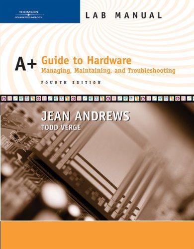 *Lab Manual A Hardware por ANDREWS