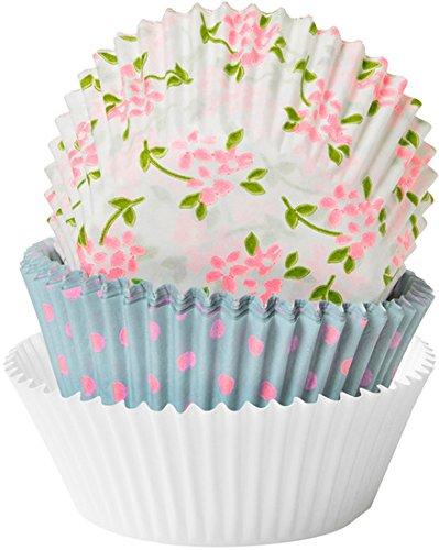 Duni Backförmchen Papier Sweet Roses ø 5,5 cm 75 St. (Rose Papier-backförmchen)
