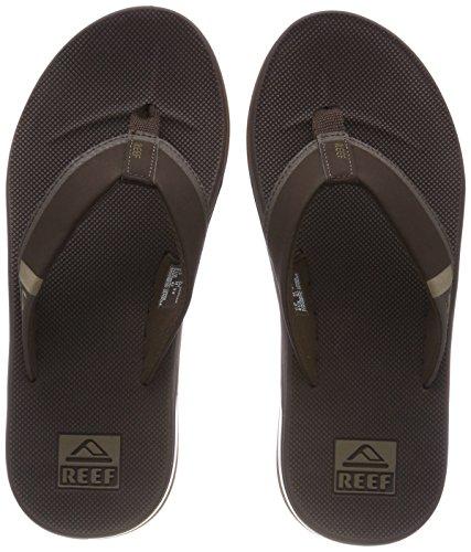 Reef Herren Fanning Low Zehentrenner, Braun (Brown Bro), 43 EU (Low Premium-skate)