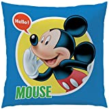Disney Mickey 043667 Expressions Kissen, Baumwolle, mehrfarbig, 40 x 40 cm