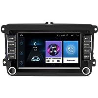 CAMECHO Android Radio de Voiture pour VW Navigation GPS 7 Pouces à écran Tactile HD Récepteur Bluetooth AM FM pour…