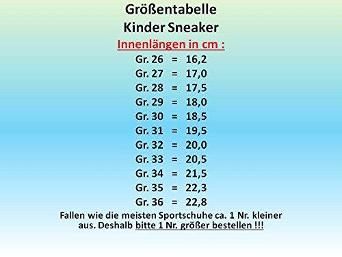 GIBRA® Kinder Sportschuhe, mit Lederinnensohle, rot, Gr. 26-36 Rot