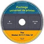 Le CD/DVD Package universel de pilote...