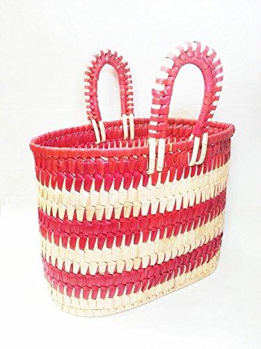 JGC Palm leaf Shopping bag