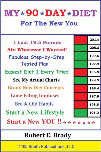 My 90 Day Diet eBook: Robert E  Brady: Amazon in: Kindle Store