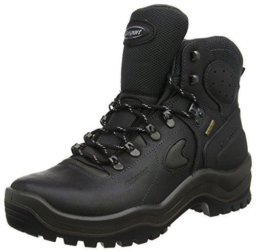 Grisport - Zapatos de protección S3 de cuero para hombre, color negro, talla 39