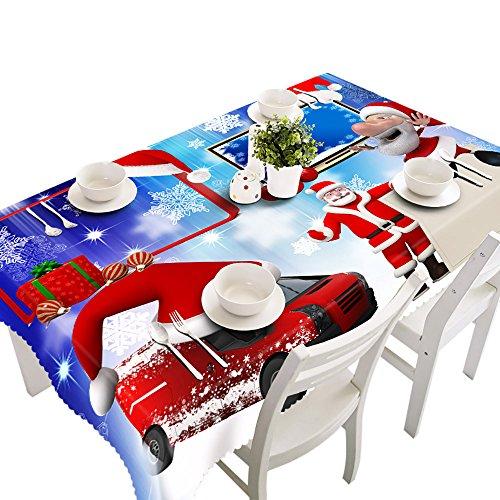 Bolanq, tovaglia rettangolare in tessuto stampato, per feste, picnic, 70 x 150 cm, poliestere, i, taglia libera