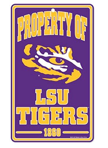 Wincraft Snack-Schale NCAA LSU Louisiana State University Tigers Champ/Prop der Zeichen, 7,25x 12 Lsu Louisiana State University