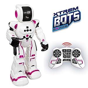 Sophie, Robot juguete para niños con sensor de movimiento, interactivo. Robot control remoto. Juguete programable. Juguetes robot inteligente