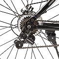 Ultrasport Alu Mountainbike 26 Zoll für Jungen, Jungenfahrrad, Trekkingrad, Alurad, 21-Gang Shimano-Kettenschaltung, mit Alu-Rahmen, Federgabel, Scheibenbremsen vorne und hinten, inkl. Trinkflasche
