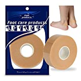 1 Roll 2.5cm x 500cm Foot Heel Ankles Wrist Tape, Waterproof Wear-Resistant Foam Anti-Slip Breathable Sticker, Prevent Blister High-Heeled Shoes Patch