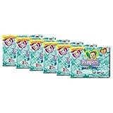 Pampers Baby Dry Pannolini Mini, Taglia 2 (3-6 kg) - 6 confezioni da 31 [186 Pannolini]