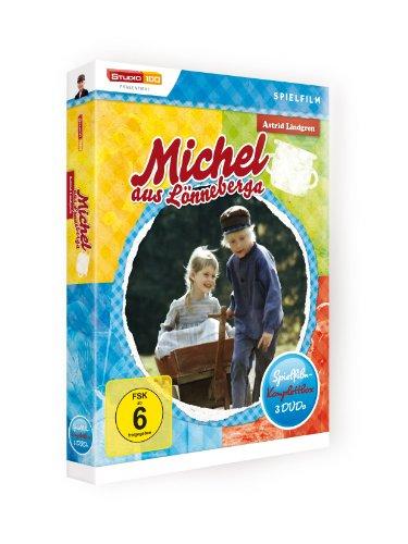 Astrid Lindgren: Michel aus Lönneberga - Spielfilm-Komplettbox (Spielfilm-Edition, 3 Discs): Alle Infos bei Amazon