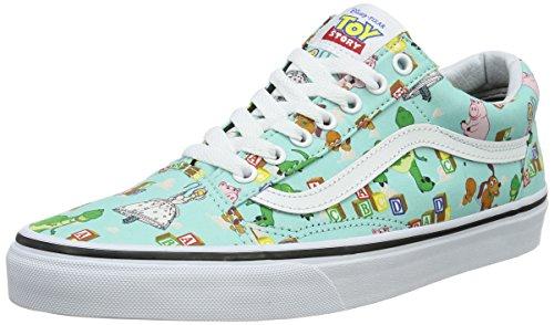 Vans Unisex-Erwachsene Sk8-Hi Reissue Low-Top Mehrfarbig (Toy Story) Andy's Toys/blue tint)