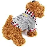 Ropa de Mascotas Amlaiworld Sudaderas Suéter Camisas de Mascotas Gatos Perros 2018 Abrigo Punto Ropa Chaleco