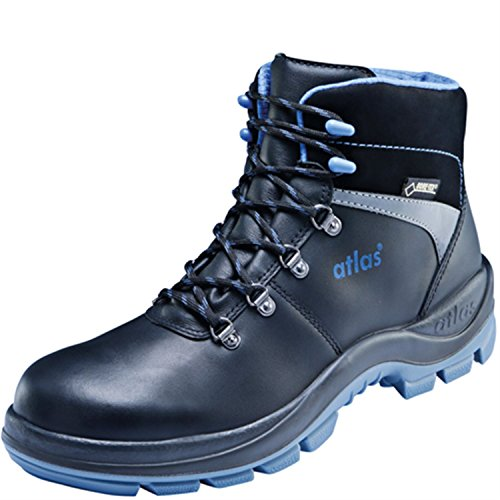 Atlas Sicurezza Scarpa alta GTX 780S2in Nero | Scarpe da lavoro Scarpa Scarpa con suola MPU Outdoor tecnologia, uso, protezione, sicurezza scarpa Nero