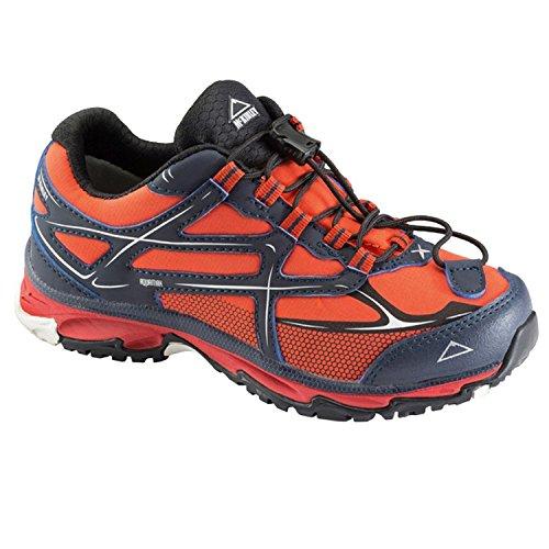 McKinley scarpa multifunzione per bambini CHROMOSOME II Low AQX JR. Navy Blu/Pink Rosso/Blu navy