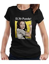 Mutie Riveter Laura Logan X Men Spanish Women's T-Shirt