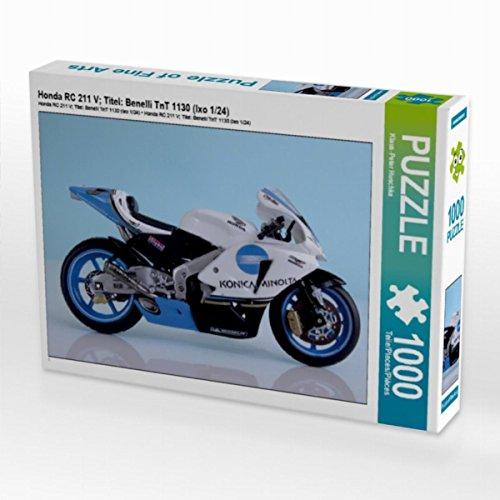 Preisvergleich Produktbild Honda RC 211 V; Titel: Benelli TnT 1130 (Ixo 1/24) 1000 Teile Puzzle quer (CALVENDO Hobbys)