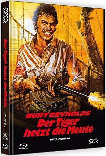 Der Tiger hetzt die Meute - White Lightning [Blu-Ray+DVD] - uncut - auf 222 Stück limitiertes Mediabook Cover C