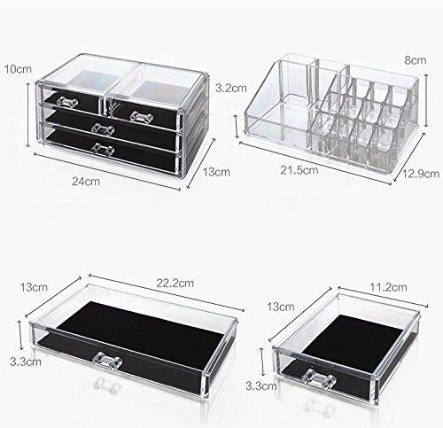 Zoom IMG-1 display4top cosmetico dell organizzatore di