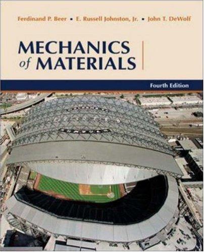 Mechanics of Materials by Ferdinand Beer (2005-01-20)