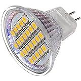 10x MR11 24 3528 SMD LED Lampe Spot Strahler Leuchtmittel Warmweiß 12V