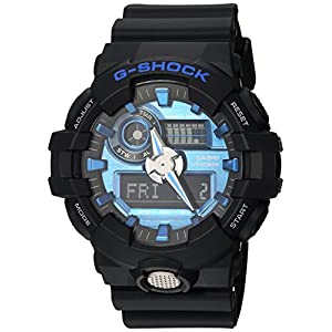 51GrZeRb7UL. SS300  - G-Shock-Mens-Analog-Digital-GA710-1A2CR-Watch-Black