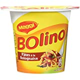 Maggi Bolino Pâtes à la Bolognaise (1 Bol) - 83g - Lot de 8