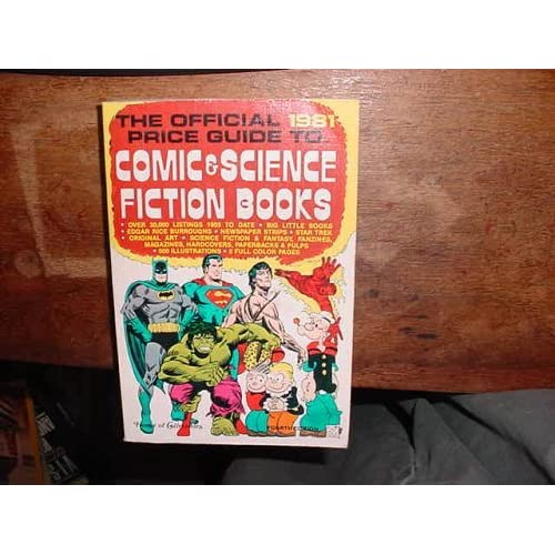 The Official 1981 Price Guide to Comic & Science Fiction Books, Fourth Edition